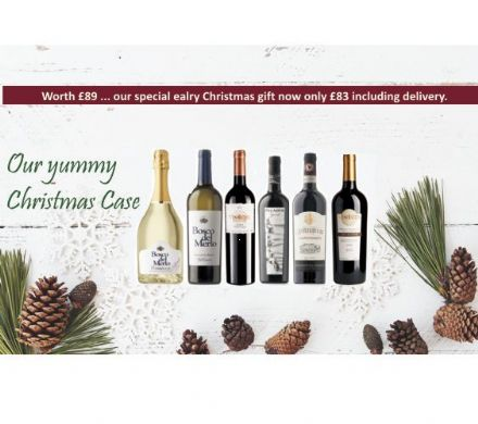 Our yummy Christmas Case (6 bottles)